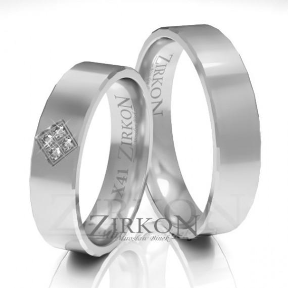 OBRĄCZKI ZIRKON - JKX-041