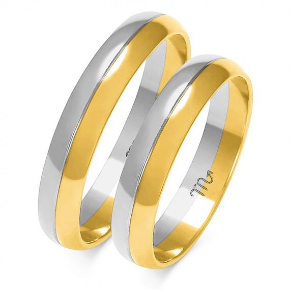 Obrączki Kolekcja Romantyczna Złoty-Skorpion A-201