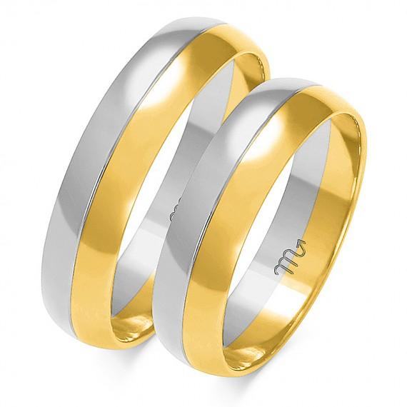 Obrączki Kolekcja Romantyczna Złoty-Skorpion A-202
