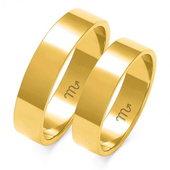 Obrączki klasyczne Złoty Skorpion - A-113
