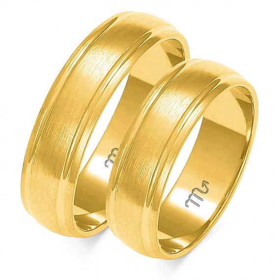 Obrączki Kolekcja Romantyczna Złoty Skorpion - A-124
