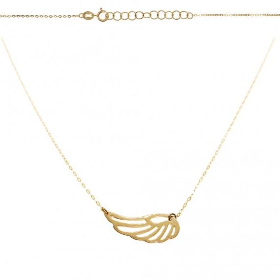 Celebrytka naszyjnik- ażurowe skrzydło